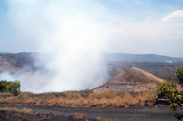 Ein besonderes Naturschauspiel in Nicaragua: der Krater Santiago. (Foto Sybille Mader)