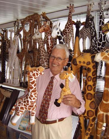 Im Giraffen-Museum finden sich Langhälse in allen Größen und Formen sowie aus allen erdenklichen Materialien.