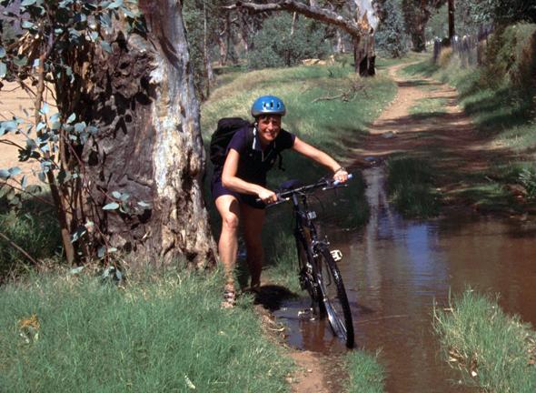 Für Radfahrer aller Könnerstufen findet sich in Victoria die richtige Piste. (Foto Karsten-Thilo Raab)
