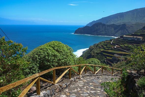 La Gomera verfügt über ein exzellent ausgebautes Wanderwegenetz.