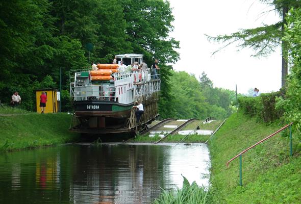 Schon 1825 reiften erste Pläne für den ungewöhnlichen Transportweg durch Polen. (Foto ZOE)