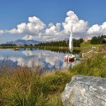 Kuriosum in den Alpen: Zum Segeln auf den Berg