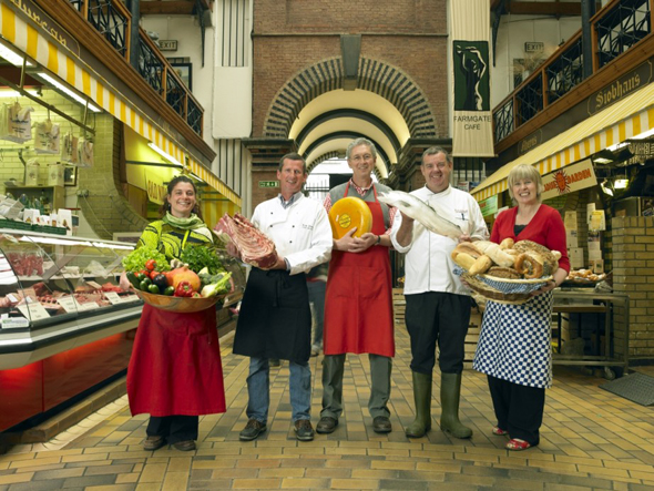 """Ganz unbescheiden bezeichnet sich Cork selber als """"Food Capital"""" - als Lebensmittel-Hauptstadt."""