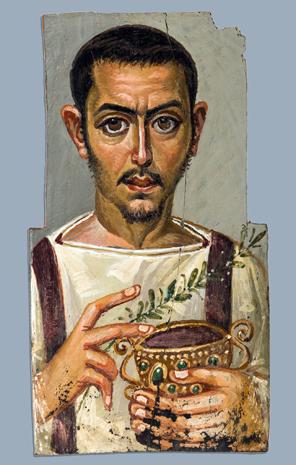 Auch das Porträt von Fayum ist zu sehen. (Foto Jonathan Ginnons)