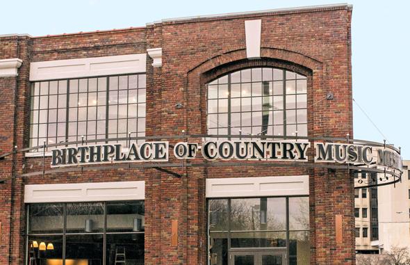 Das Birthplace of Country Music Museum in Bristol widmet sich ganz dem beliebten Musikgenre.