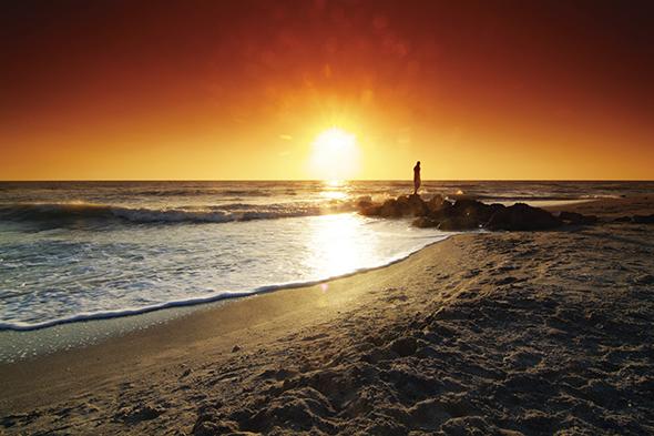 Sarasota  verfügt über einige der schönsten Strände Floridas wie hier Caspersen Beach: