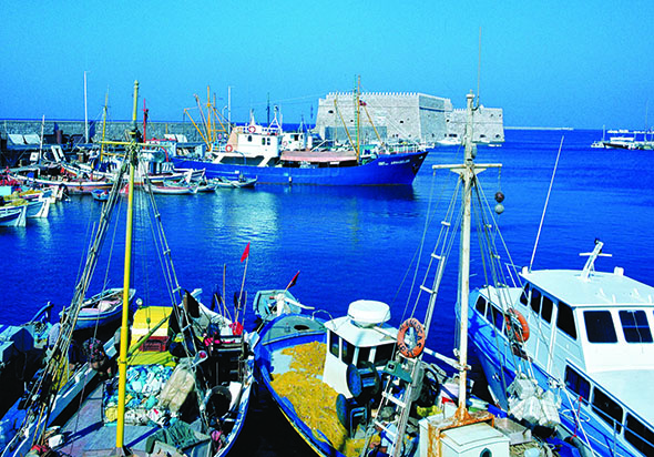 Nicht nur rund um den Hafen ist in der Inselhauptstadt Heraklion einiges zu entdecken.