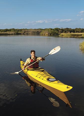 Zu den beliebten Freizeitaktivitäten gehört paddeln auf dem Myakka.