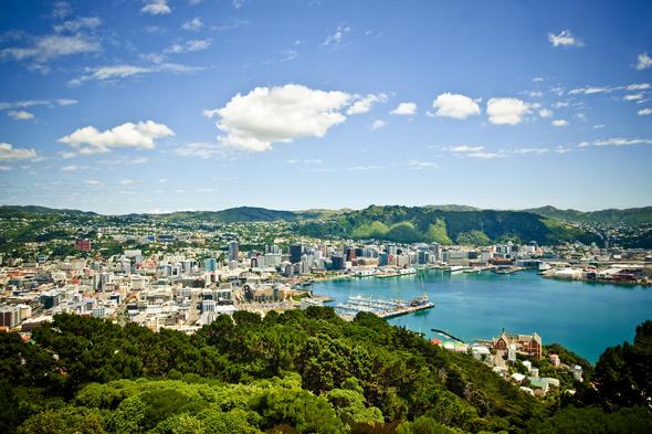 Das Meer ist von jedem Punkt in Neuseelands Hauptstadt kaum mehr als ein Steinwurf entfernt. (Foto Wellington Tourism)