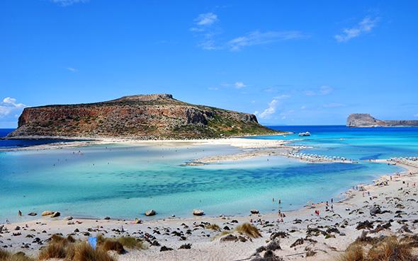 Zu den Pfunden mit denen Kreta wuchern kann, gehören die zahllosen verträumten Strände und Buchten.