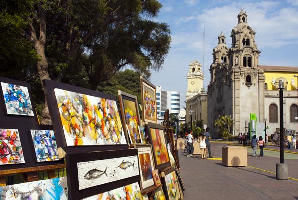 Kunst und Kultur nehmen während der Fiestas Patrias großen Raum ein.