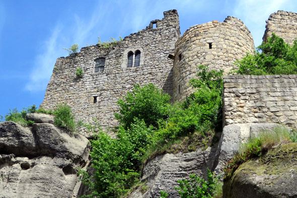 Nach der Reformation wurde die Anlage durch Brände und Naturgewalten zerstört, doch die spektakulären Ruinen lassen heute noch ihre einstige Pracht erahnen. (Foto: Sandra Adolf)