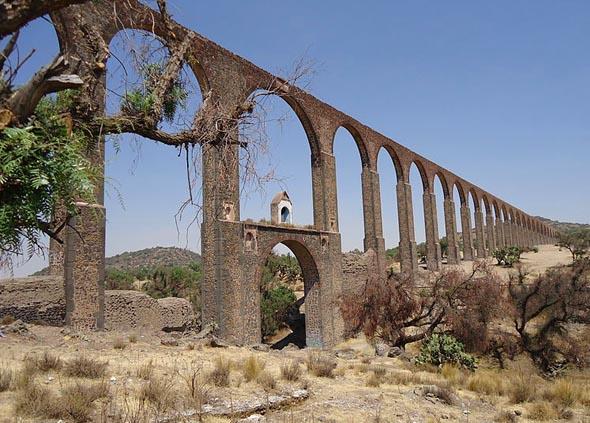 Neues 48 Kilometer4 langes Welterbe in Mexiko: der Aquädukt von Padre Tembleque. (Foto Carmelita Thierry)
