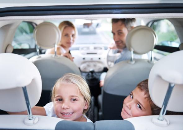 Eine lange Anreise mit Kinder kann bisweilen die Geduld der Eltern überaus strapazieren. (Foto Landal)