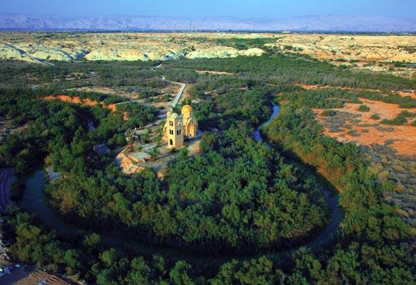 Bethanien, wo Johannes der Täufer Jesus Christus taufte, ist das mittlerweile fünfte UNESCO-Weltkulturerbe in Jordanien. (Foto Jordan Tourism Board)