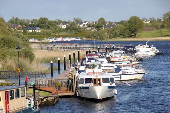 Ein Traum für Freizeitkapitäne: Eine Bootstour über den Shannon in Irland. (Foto Karsten-Thilo Raab)