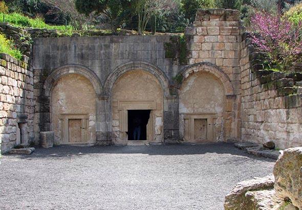 Die Nekropole von Bet She'arim in Israel wurde nun von der UNESCO zum Weltkulturerbe erhoben. (Foto Hebrew Wikipedia)