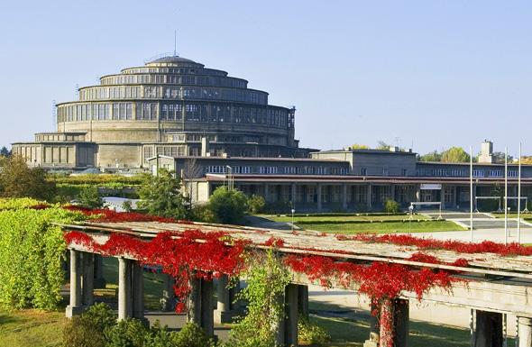 Imposanter Kuppelbau: die Jahrhunderthalle in Breslau. (Foto S. Klimek)