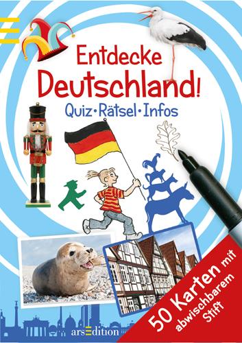 Quiz-Karten Entdekce Deutschland