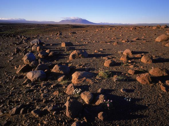 Beim Blick auf die Landschaft am Kjolur-Blafell fällt es nciht schwer, sich vorzustellen, warum die Amerikaner die Region auswählten. (Foto Ragnar Th. Sigurdsson)