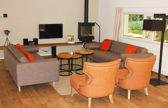 Die Ferienhäuser in Miggelenberg erweisen sich als perfekte Symbiose aus Chis, Komfort und Zweckmäßigkeit. (Foto Karsten-Thilo Raab)