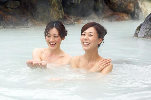 Für die Japaner ist der Besuch eines Onsens ein wichtigter Wohlfühlfaktor. (Foto JNTO)