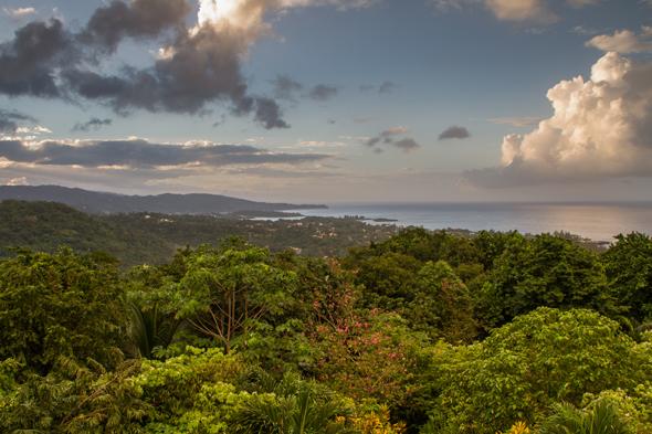 Blick auf Port Antonio, das einer der Startpunkte für die Touren in die Blue and John Crow Mountains ist. (Fotos Jamaica Tourist Board)