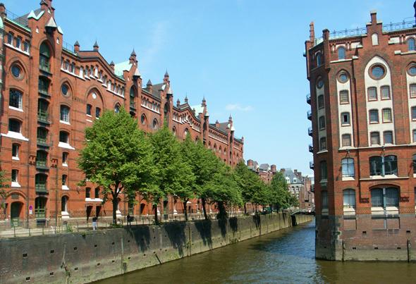 Die Hamburger Speicherstadt wurde 2015 zum Weltkulturerbe der UNESCO erhoben. (Foto Karsten-Thilo Raab)