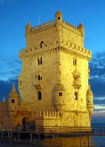 500 Jahre am Uferd es TejO: Torre de Belém in Lissabon. (Foto Karsten-Thilo Raab)