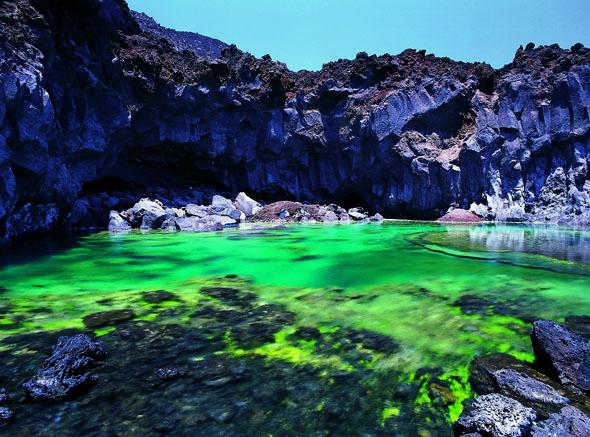 Zu den vielen Naturschönheiten auf La Palma gehört auch Fuente Sante. (Foto Turespaña)