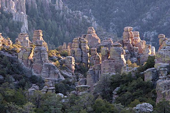 Arizona verfügt über einige ungewöhnliche Gesteinsformationen.