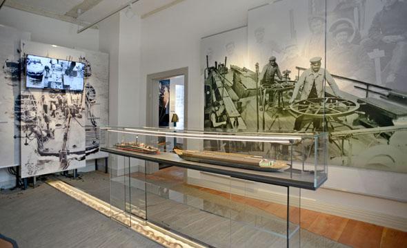 Mühevoller Weg flussaufwärts: Wie beschwerlich die Kettenschifffahrt war, berichtet das interaktiv gestaltete Elbschifffahrtmuseum. (Foto: Uwe Franzen)