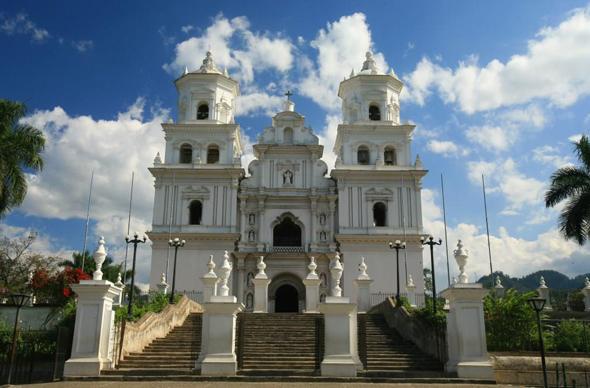 Stummer Zeuge einer langen Geschichte: die Basilika von Esquipulas in Guatemala.