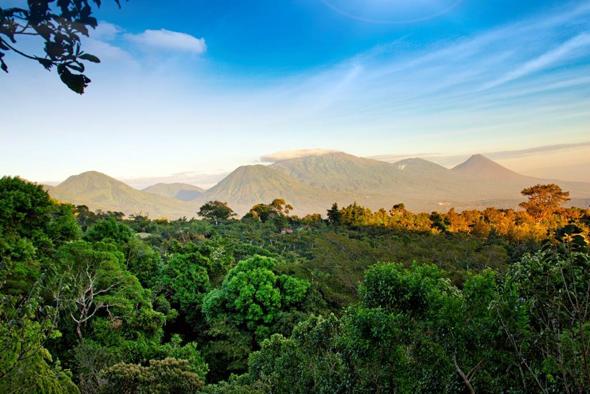 Ein bezauiberndes Stück Zentralamerikas: die Vulkanlandschaft in El Salvador.