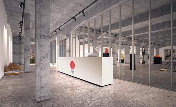 Schaffensfreudige Heimat für bis zu 20 Künstler: die Fire Station in Doha.