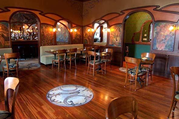 """Einer der Drehorte von Woody Allens Spielfilm """"Irrational Man"""". (Foto Loie Fuller's Restaurant)"""
