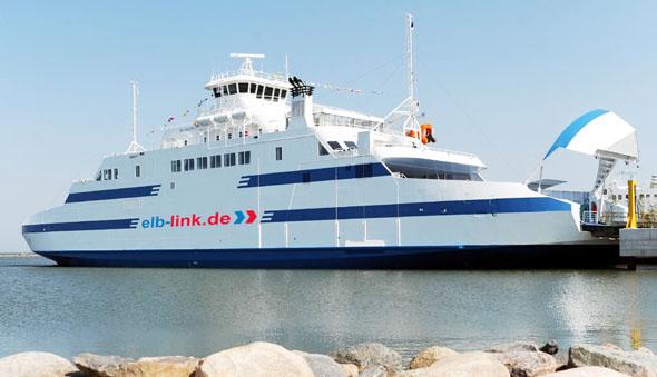 Neu in Cuxhaven: Mit der Elbe-Fähre nach Brunsbüttel (Foto: Elb-Link Reederei GmbH)