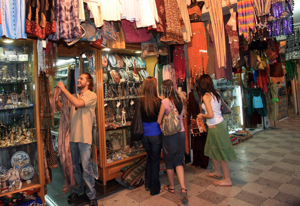 Keine Besuch Jordaniens wäre natürlich komplett, ohne in einem Basar gefeilscht und gehandelt zu haben.