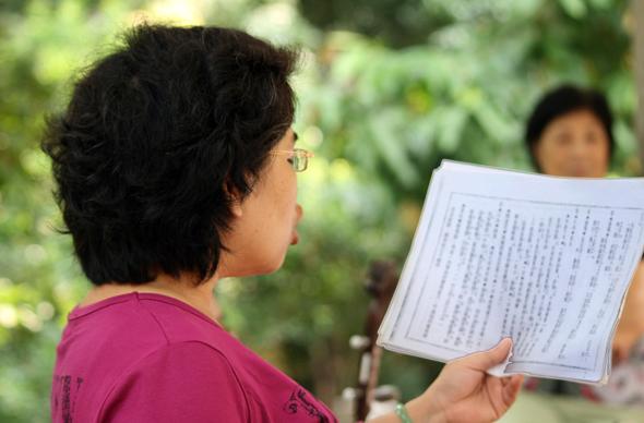 Musiker aus Macau stimmen sich schon jetzt auf das 29. Internationale Musik-Festival ein. (Foto Karsten-Thilo Raab)