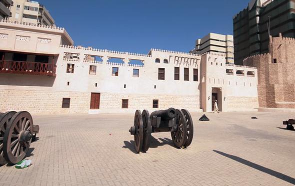 Nach 15-monatigen Umbauzeit nun wieder geöffnet: Sharjah Fort. (Foto Alexandermcnabb)