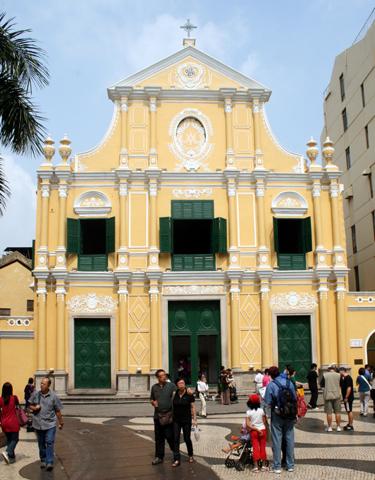 Die Kirche St. Dominic ist einer der Spielorte des 29. Macau International Music Festivals. (Foto Karsten-Thilo Raab)