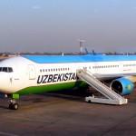 Lustiges Passagierwiegen beiUzbekistan Airways