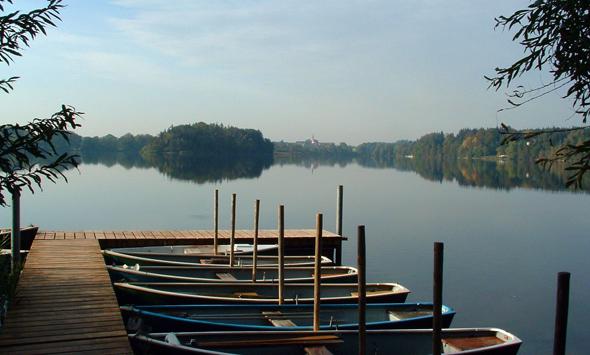 Idylle am Abtsdorfer See. (Fotos Berchtesgadener Land Tourismus)