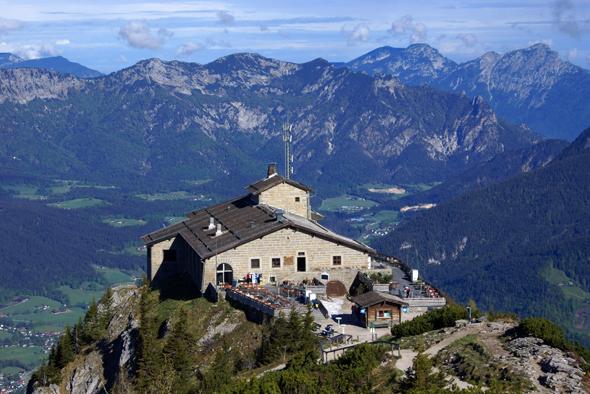 Wanderziel mit Ausblick: das Kehlsteinhaus.