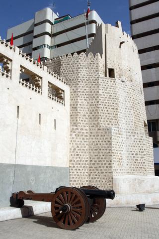 Sharjahs Wahrzeichen wurde aufwendig renoviert.