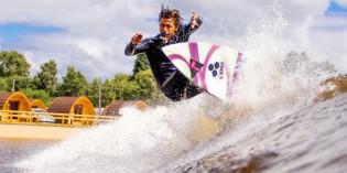 Perfekte Welle auf dem Land: Surfpark in Wales