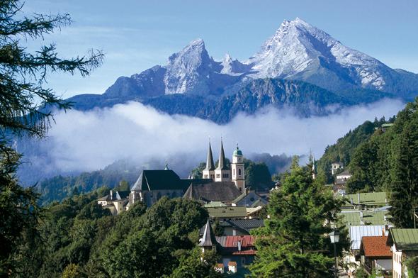 Weithin sichtbares Wahrzeichen des Berchtesgadener Lands: der Watzmann.