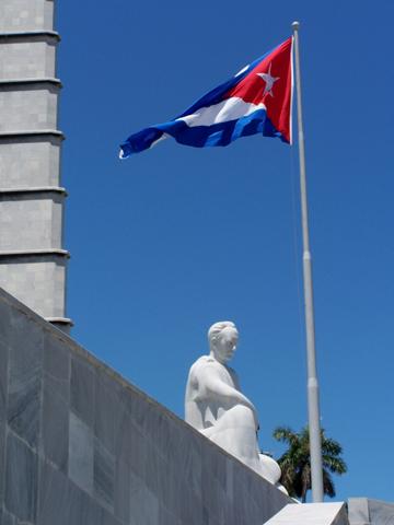 Das Jose Marti-Denkmal in Havanna. (Foto Dieter Schütz/Pixelio)