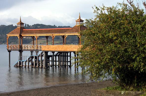 Frutillar, am Westufer des Lago Llanquihue gelegen, ist durch und durch Deutsch geprägt. (Foto Karsten-Thilo Raab)
