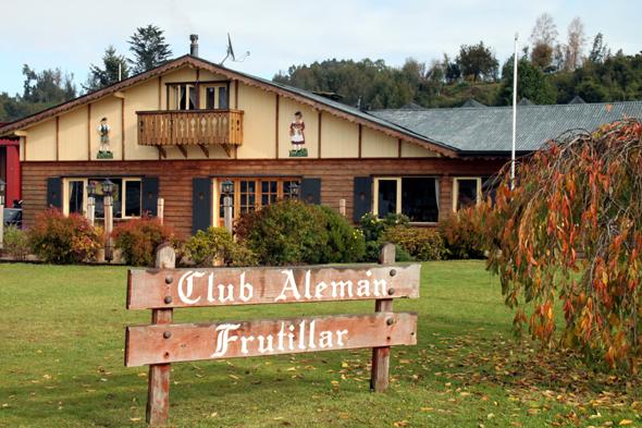 Hüter des deutschen Kulturguts in Frutillar: der Club Aleman. (Foto Karsten-Thilo Raab)